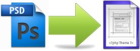 PSD to WordPress Theme